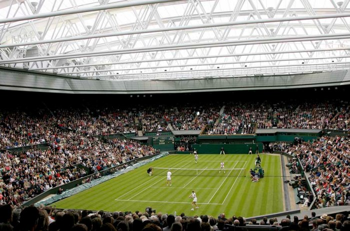 Wimbledon Centre Court with a Roof