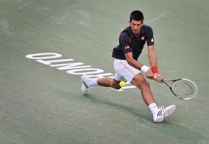 Novak Djokovic in Toronto