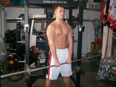 Shoulder - Front Barbell Raise 1