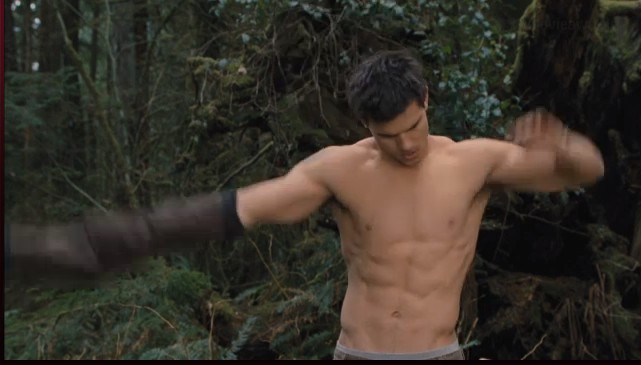 how taylor lautner get ripped