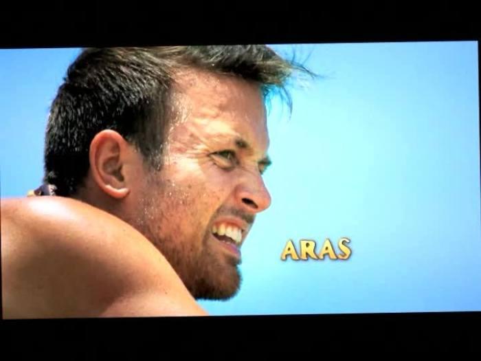 aras returns in blood vs water