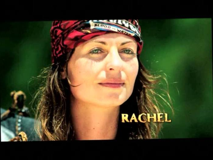 rachel on survivor blood vs water