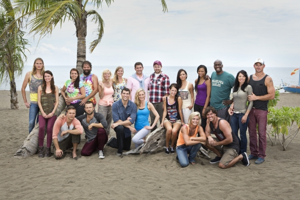 survivor blood vs water cast photo