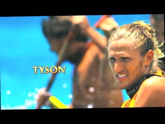 tyson returns on blood vs water