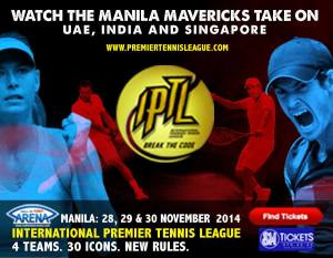 IPTL Tickets For Manila Leg
