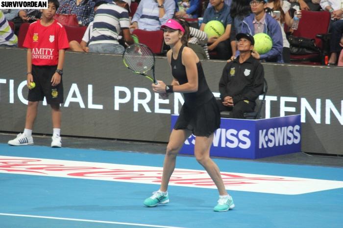 Ana Ivanovic in IPTL Manila