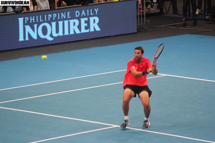 Patrick Rafter in action