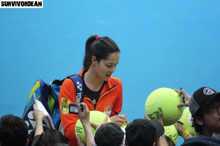 Ana Ivanovic signed tennis balls