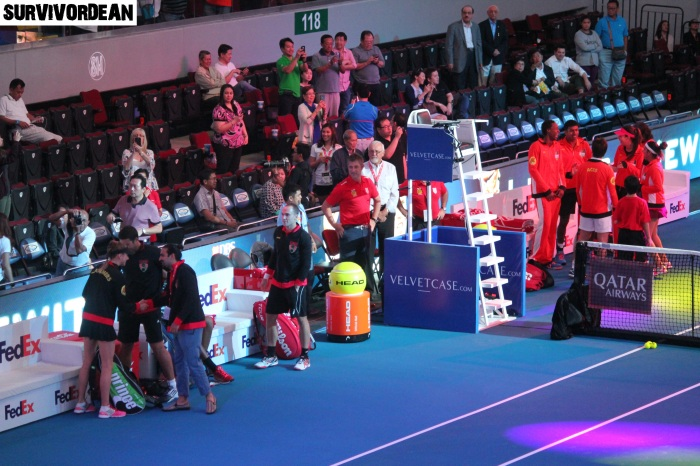 The First IPTL Match in History, Mall of Asia Arena