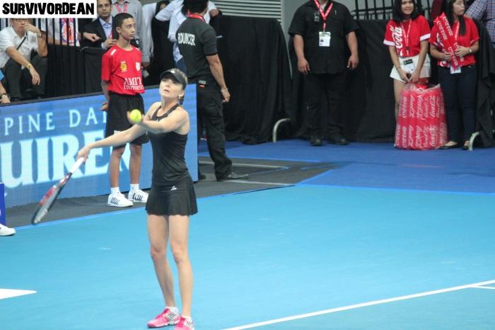 Daniela Hantuchova in IPTL Manila