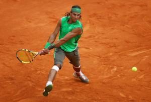 Rafael Nadal in French Open 2008