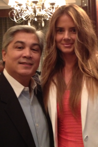 Chris Portillo Meets Daniela Hantuchova