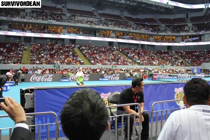 Rafael Nadal in IPTL Manila
