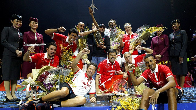 Singapore Slammers Won IPTL 2015